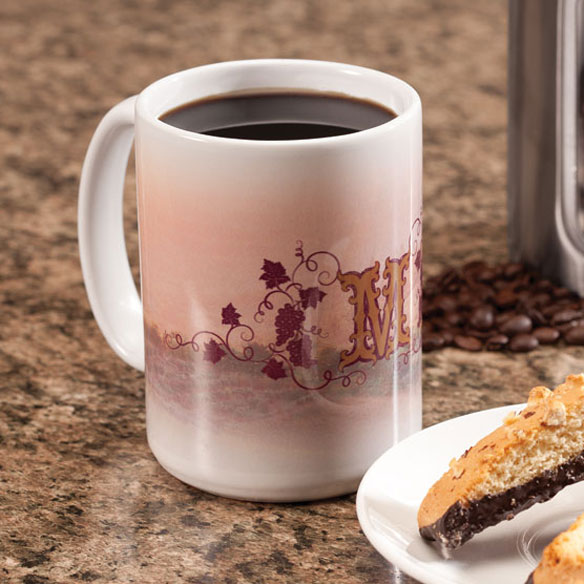Personalized Tuscan Sunset Mug