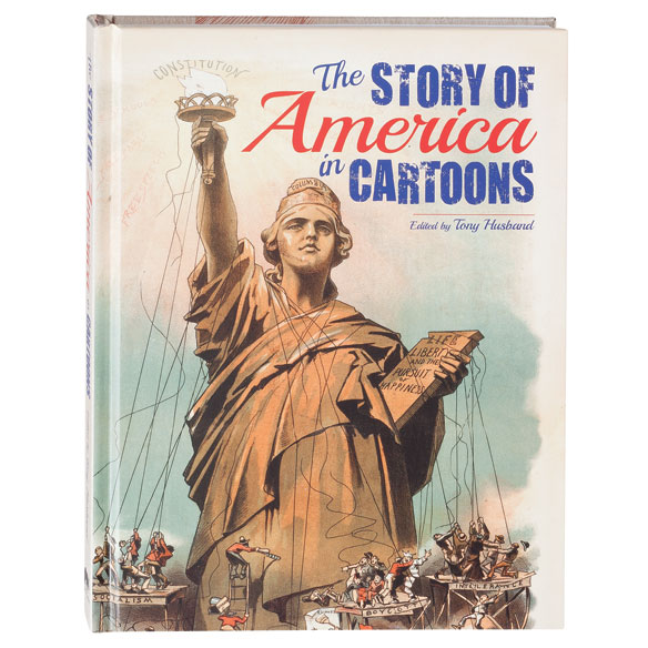 The Story of America in Cartoons Book