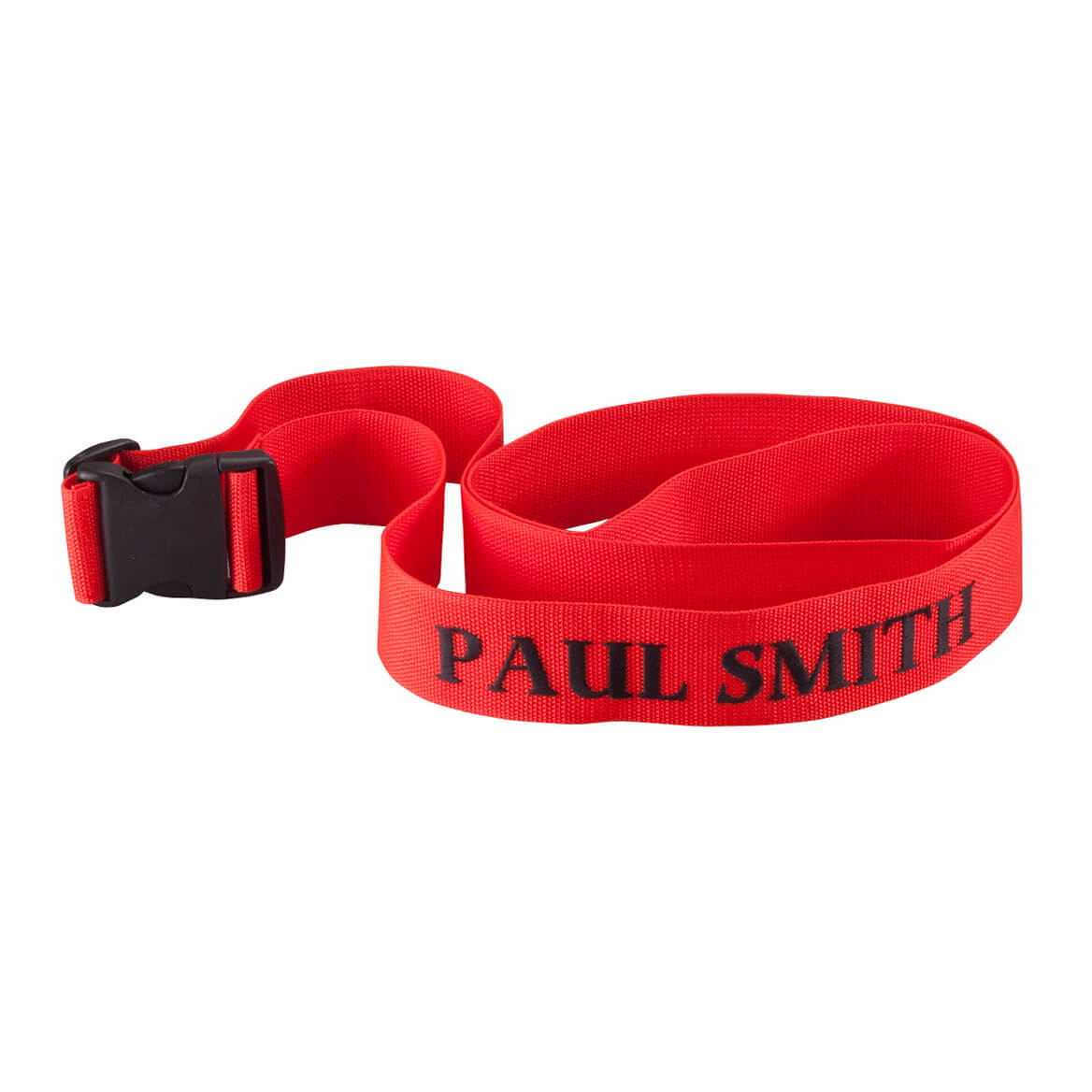Personalized Red Luggage Strap-355336