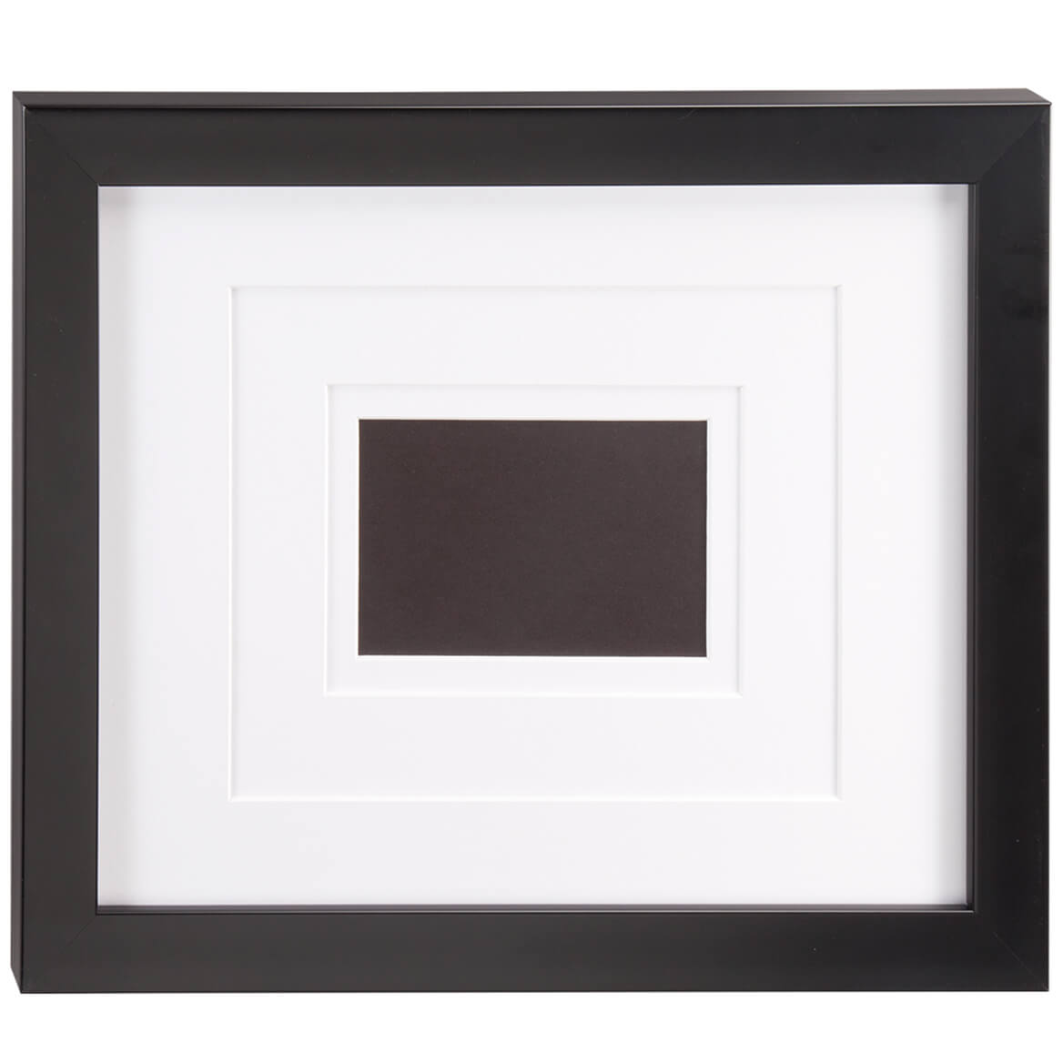 Perfect Frame With White Triple Mat Personalized Plaque