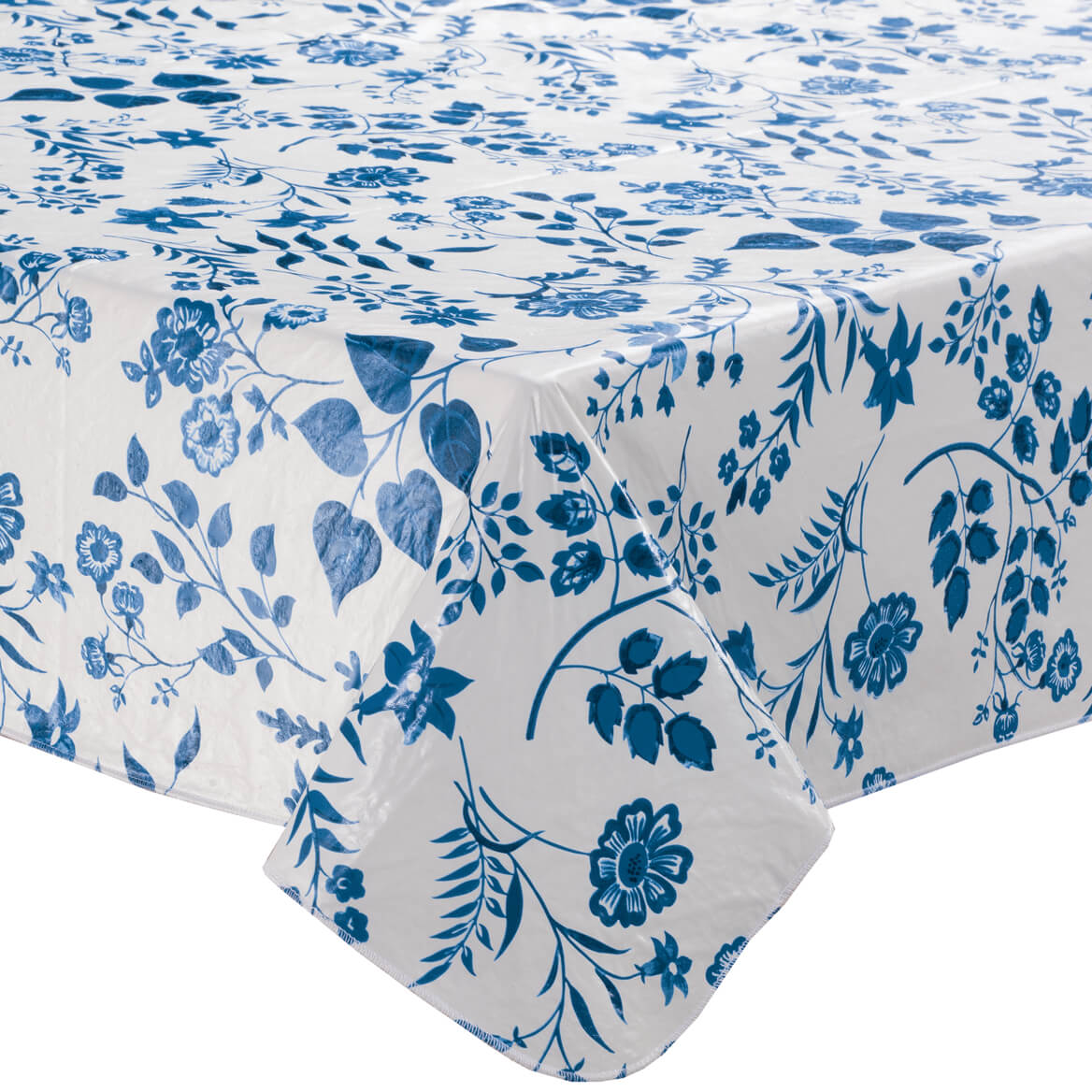 Flowing Flowers Vinyl Tablecover By Home-Style Kitchen™-355907