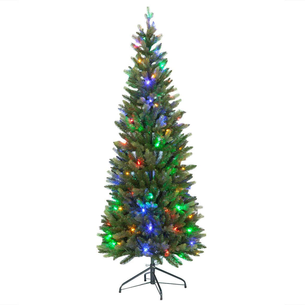 6-Foot Pre-Lit Frasier Tree - Pre-Lit Christmas Tree - Miles Kimball