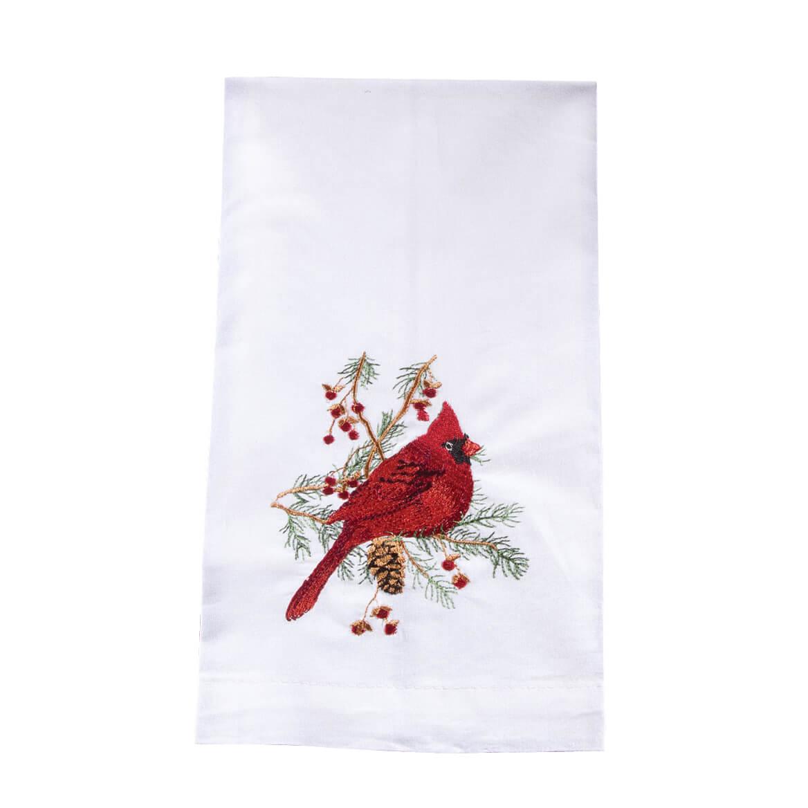 Cardinal Guest Finger Towel