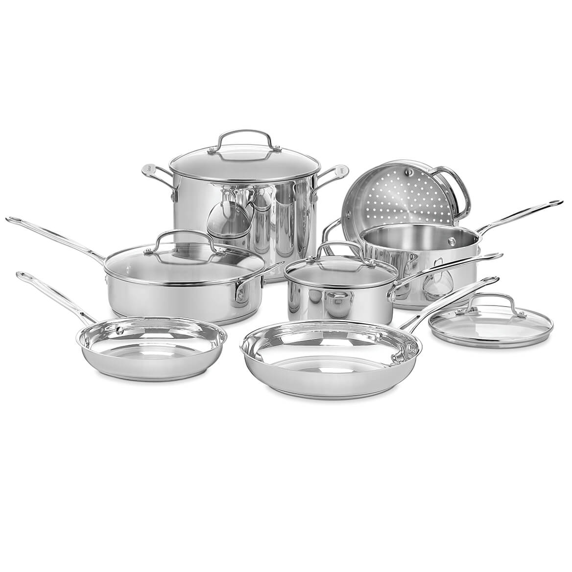 Cuisinart Chef's Classic Cookware Set, 11 Pieces