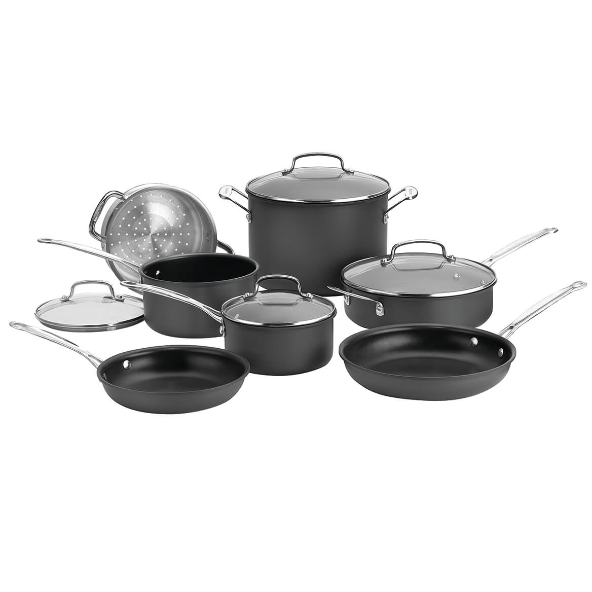 Cuisinart Chef's Classic™ Nonstick Anodized 11 Pcs  XL