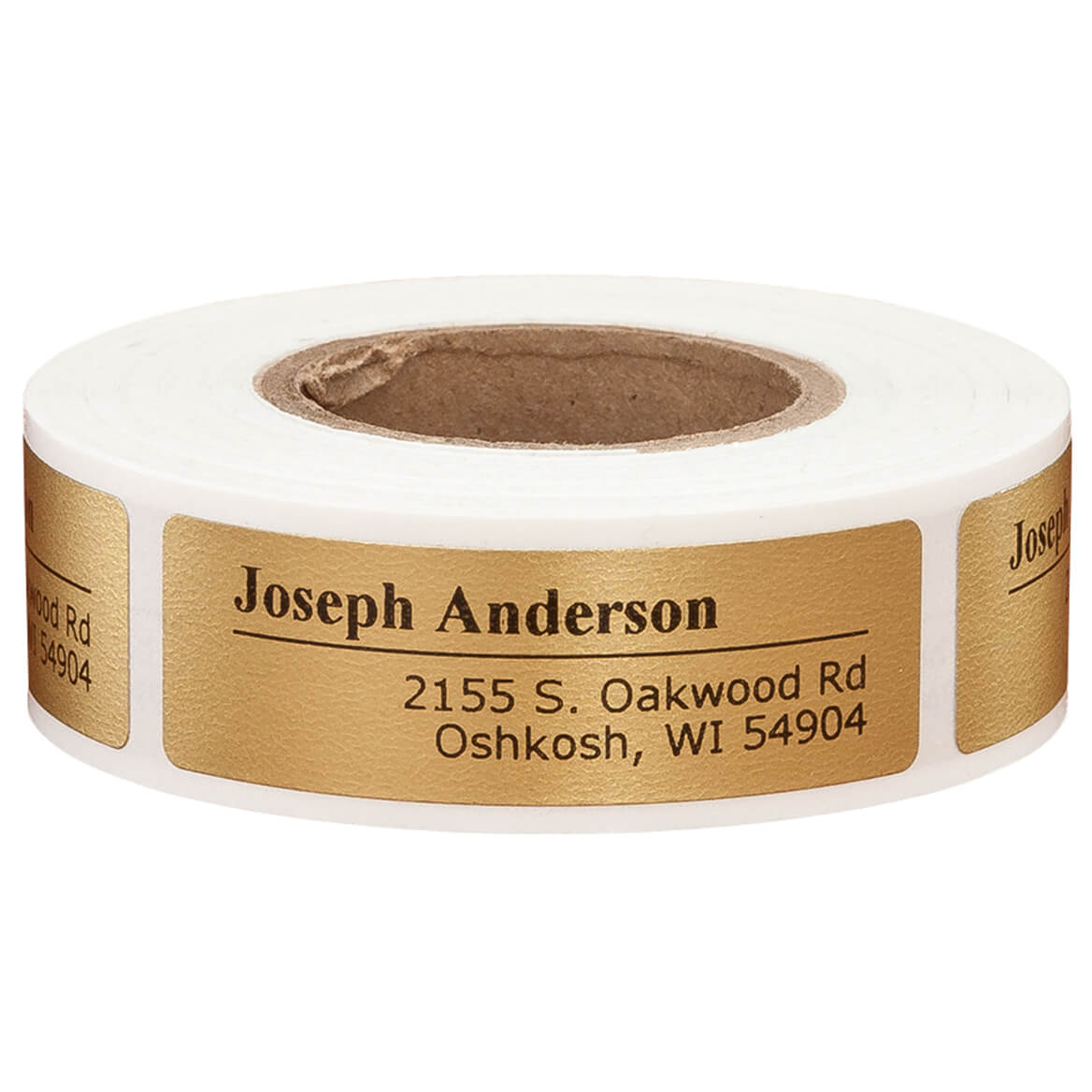 Personalized Off-Centered Address Labels 200