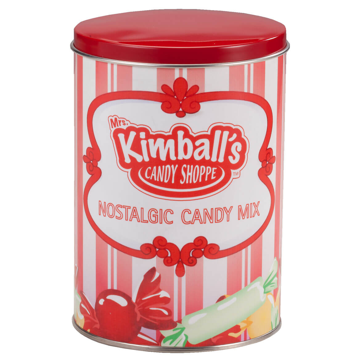 Mrs. Kimball's Candy Shoppe Nostalgic Candy Mix Keepsake Tin-357626