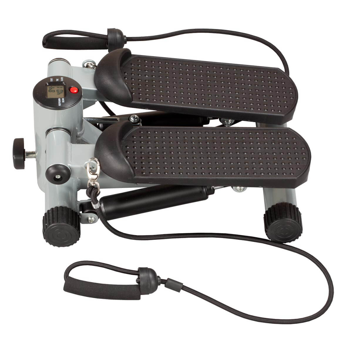 Seated Stepper with Resistance Bands