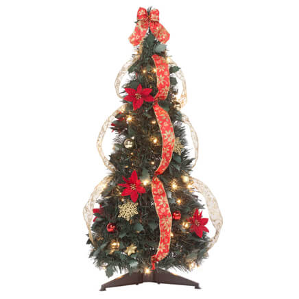 Gallery Of Pre Lit Pull Up Christmas Tree Fabulous Homes