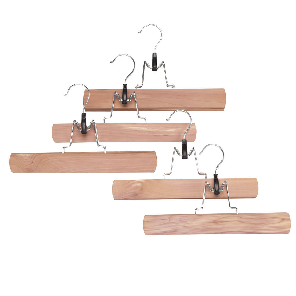 Cedar Pant Hangers by OakRidge Accents�, Set of 5 - Miles Kimball