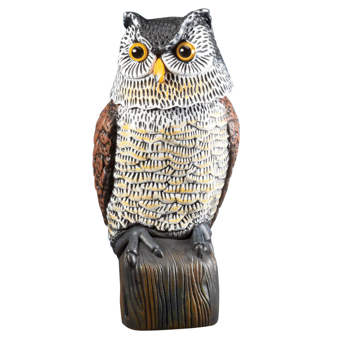 Scare Owl with Spring Neck by Pest-B-Gone™