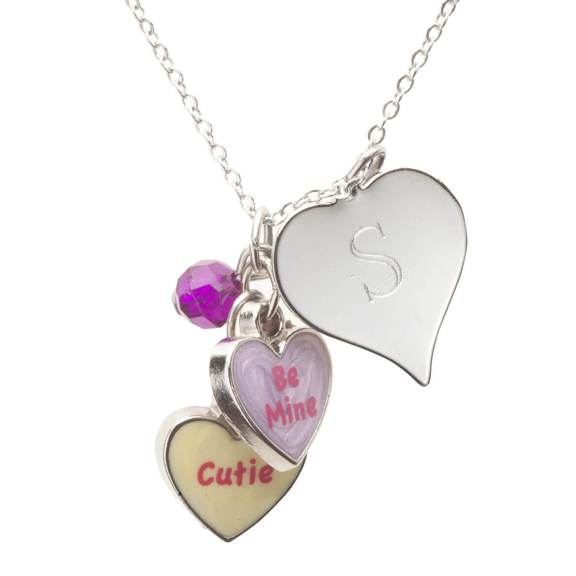 Personalized Valentine's Day Cutie Necklace