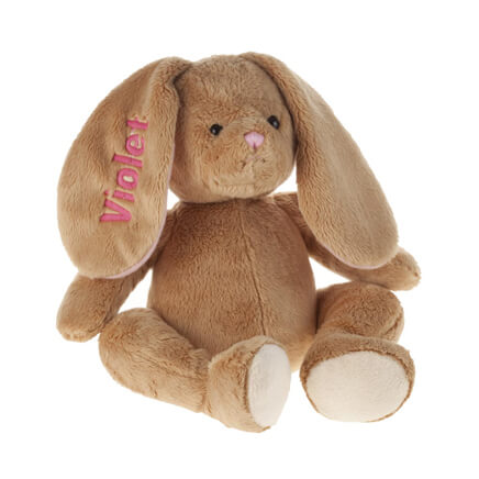 Personalized Plush Easter Bunny Plush Easter Bunny Miles Kimball