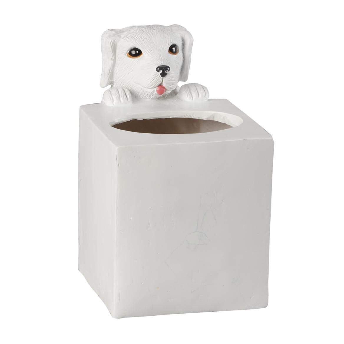 Playful Dog Tissue Box Holder by OakRidge™