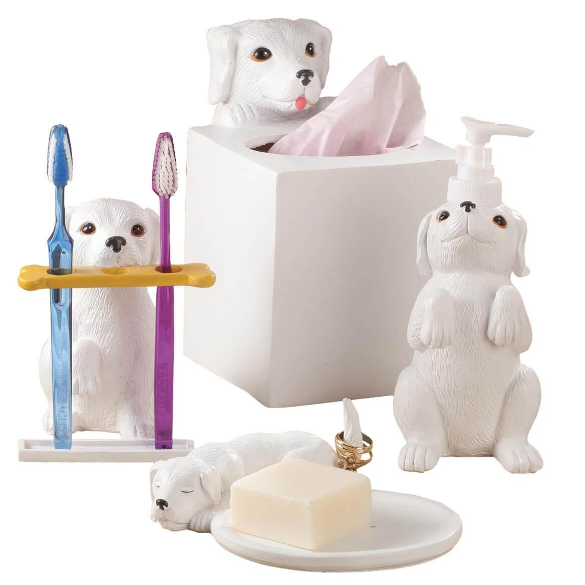 Dog Bathroom Accessories, Set of 4 by OakRidge™