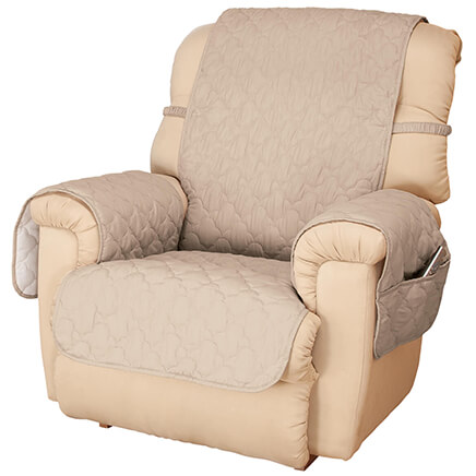 Deluxe Microfiber Recliner Cover By OakRidge™ 358279 ...