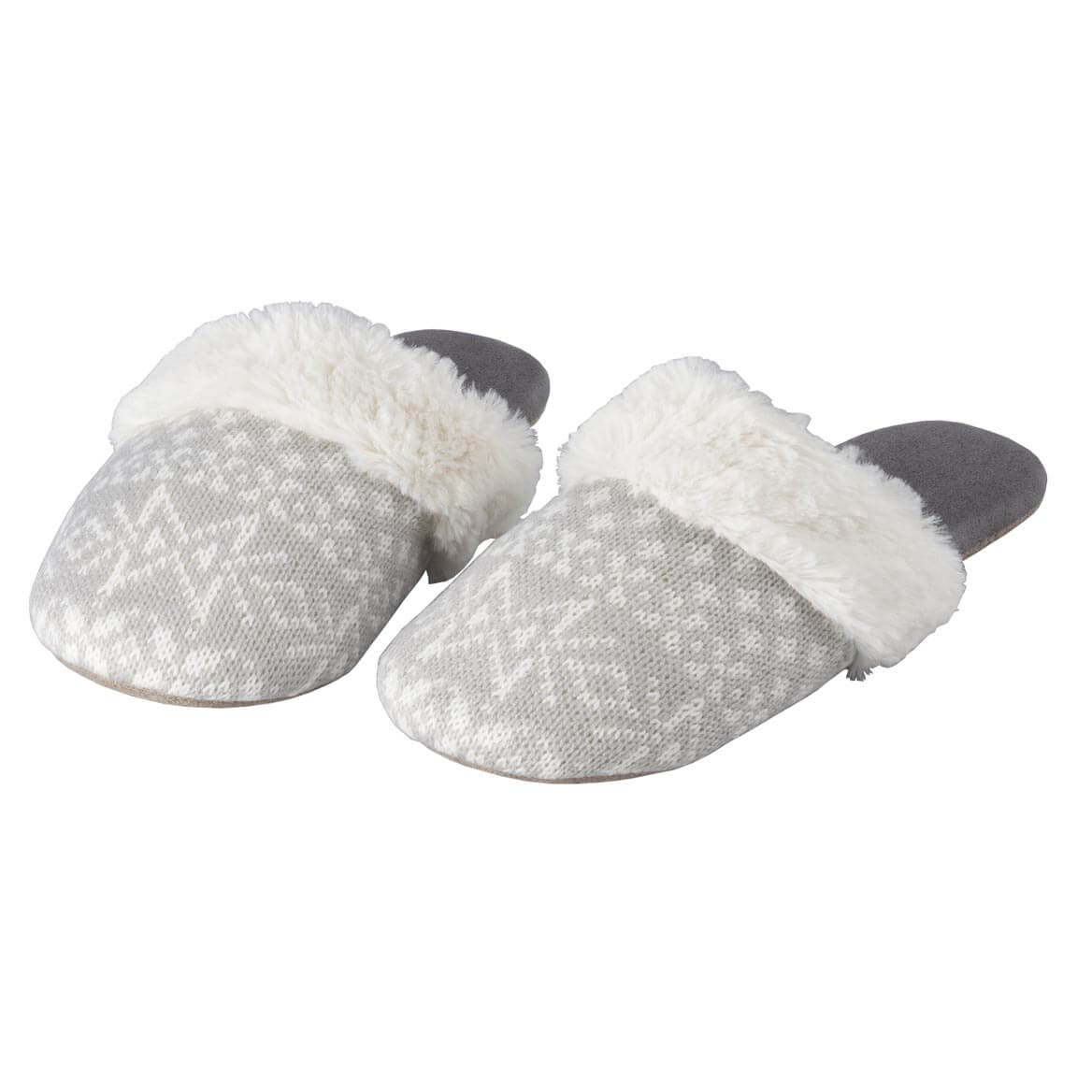 Nordic Style Slide-On Slippers