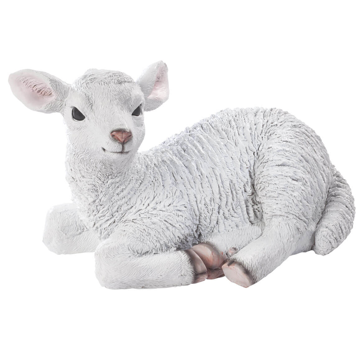 Resin Lamb Statue