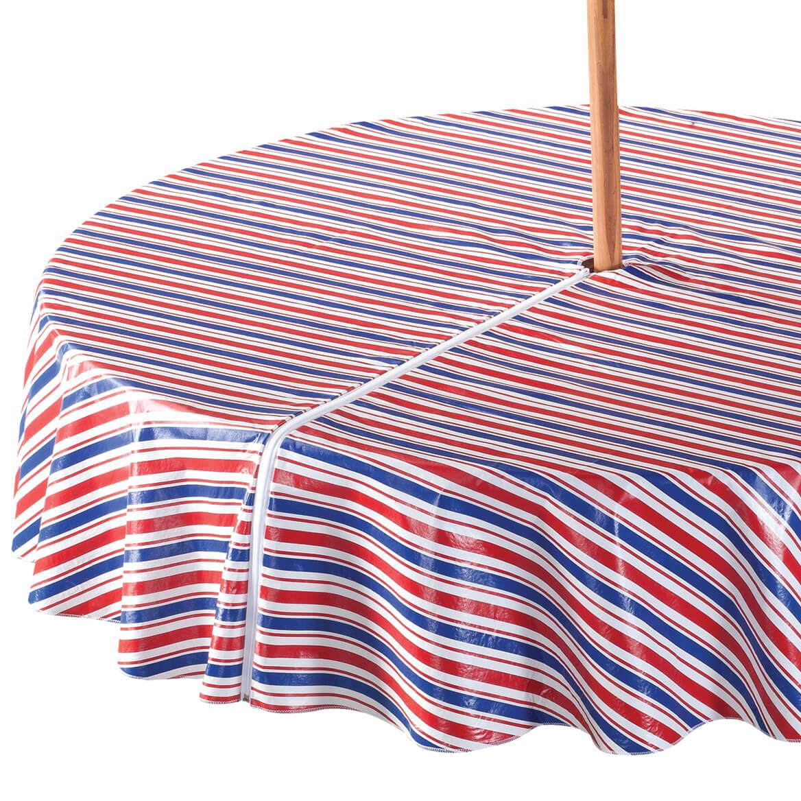 Patriotic Zippered Umbrella Tablecover-358460