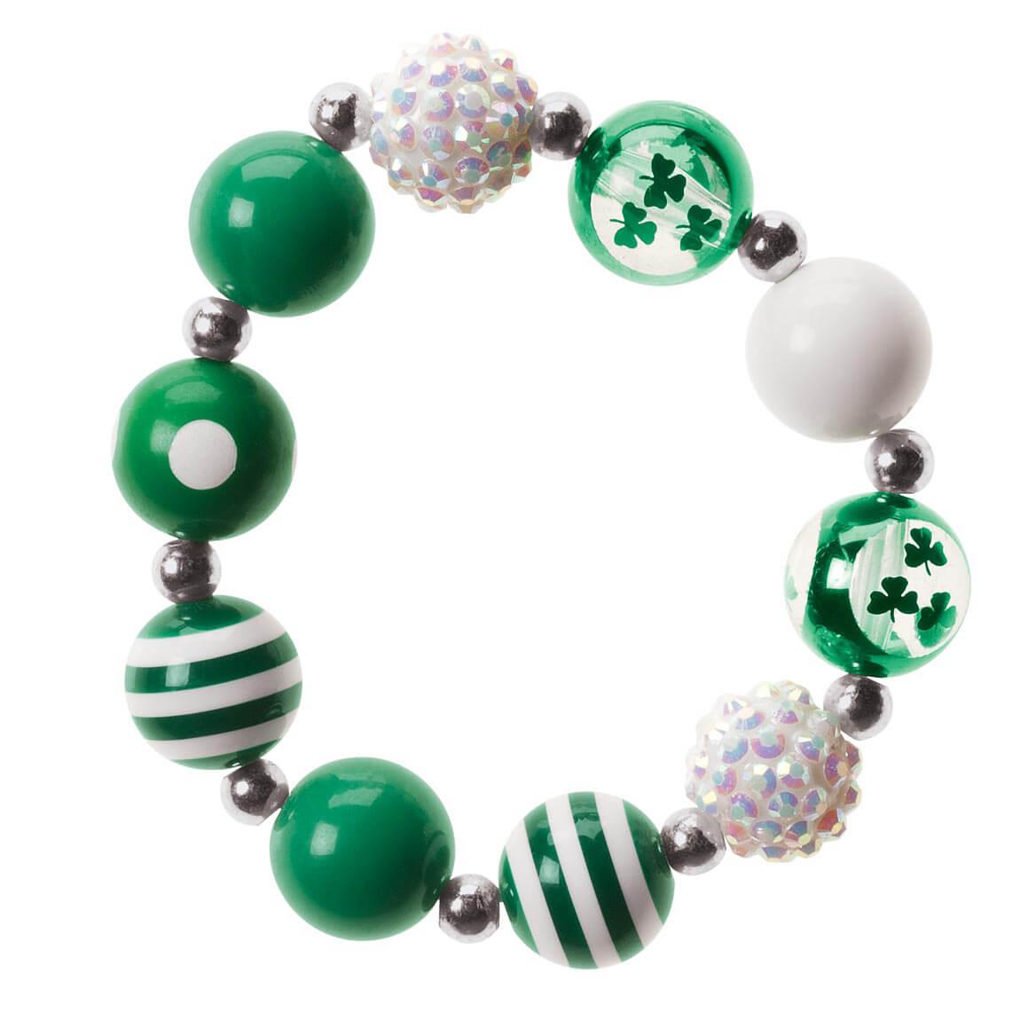 St. Patrick's Day Bling Strech Bracelet