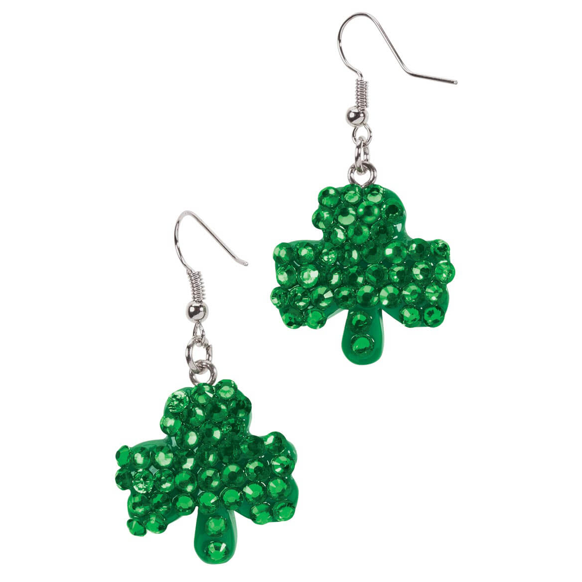 St. Patrick's Day Bling Earrings