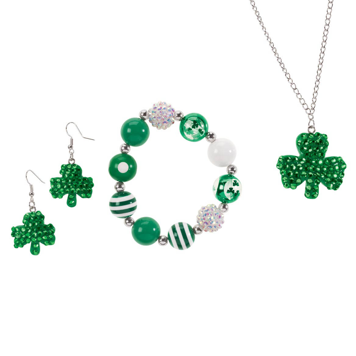 St. Patrick's Day Bling Jewelry, Set of 3