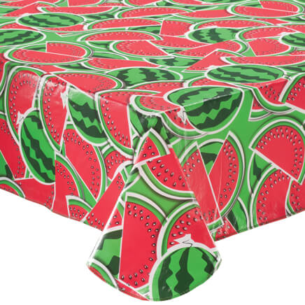 Watermelon Vinyl Tablecovers By Home Style Kitchen™ 358633
