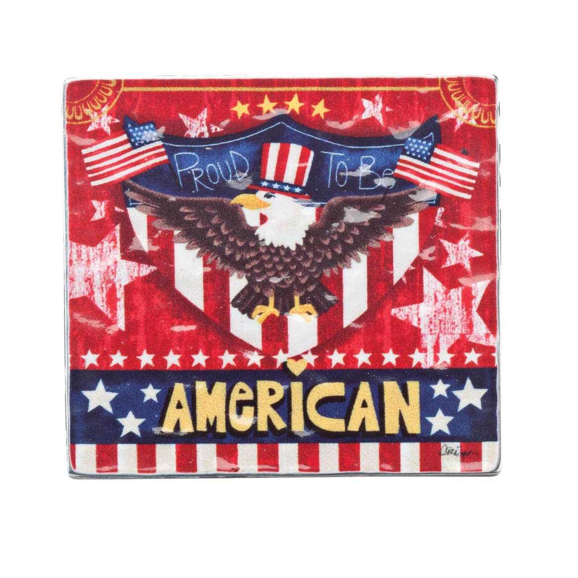 Proud to Be American Visor Clip