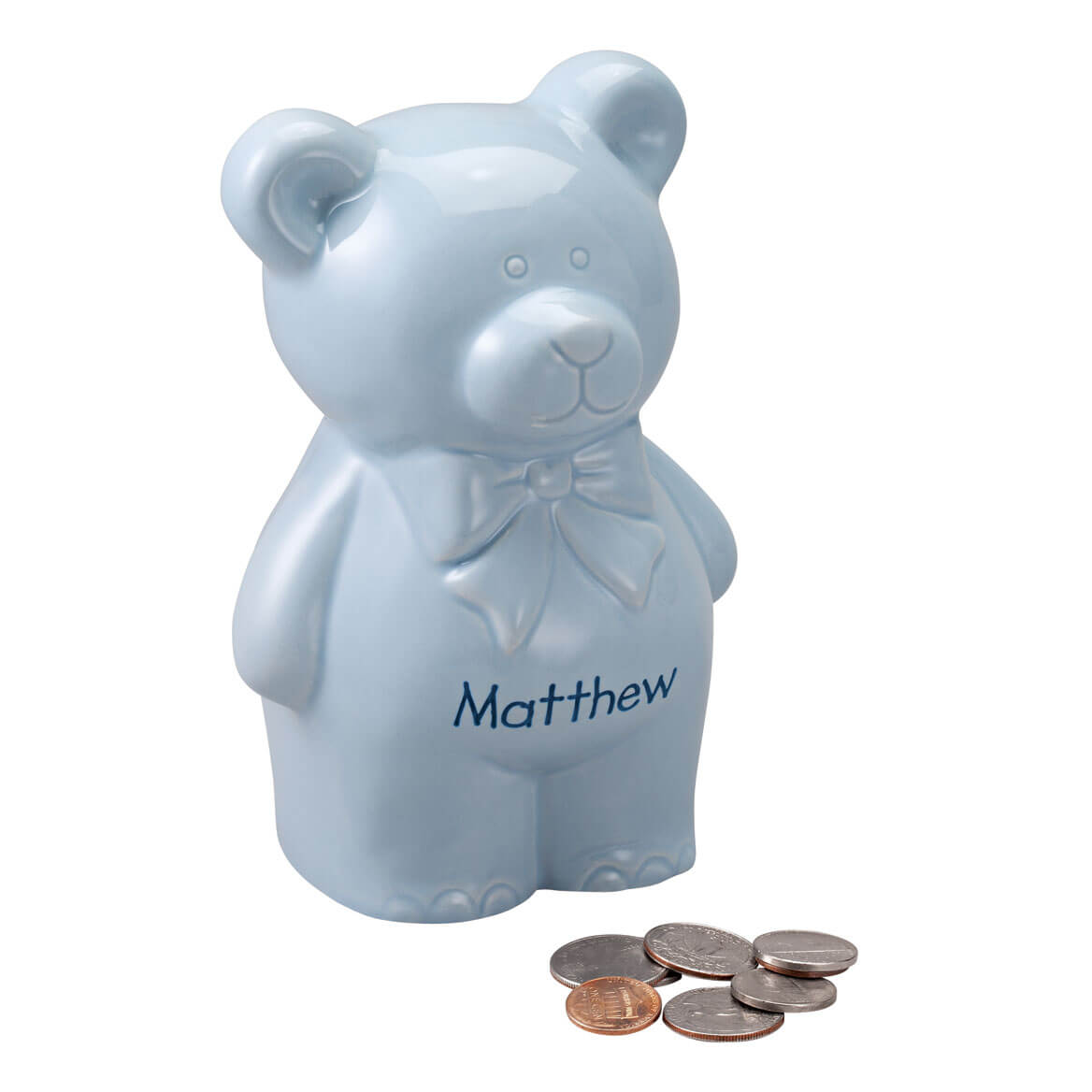 Personalized Teddy Bear Bank