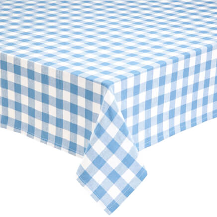 100% Cotton Gingham Tablecloth 359112