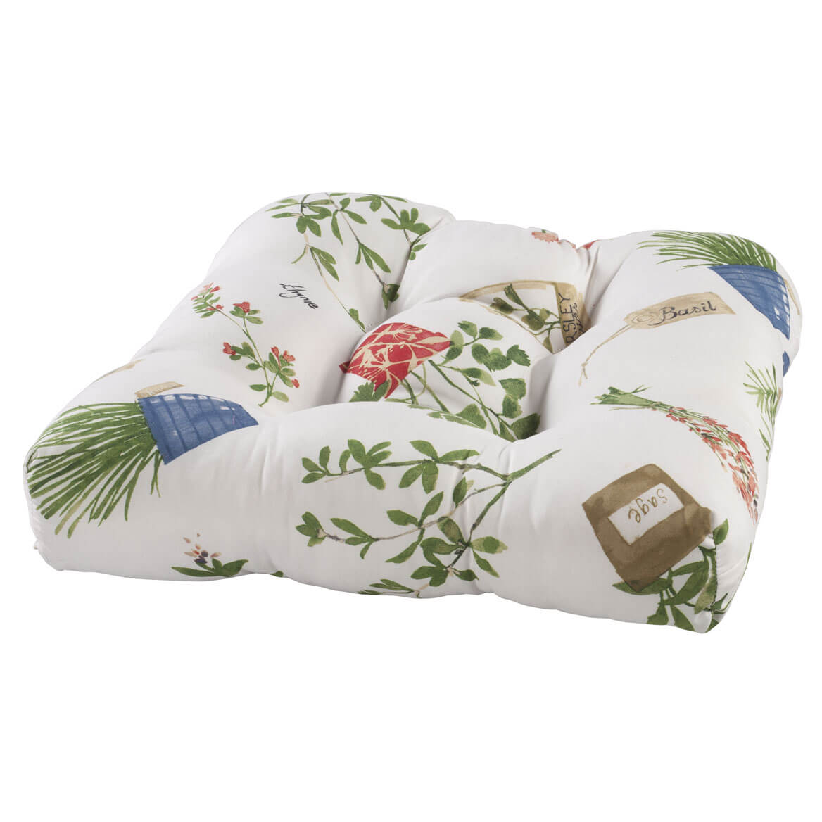 Potted Herbs Chair Pad by OakRidge™ Kitchen Gallery
