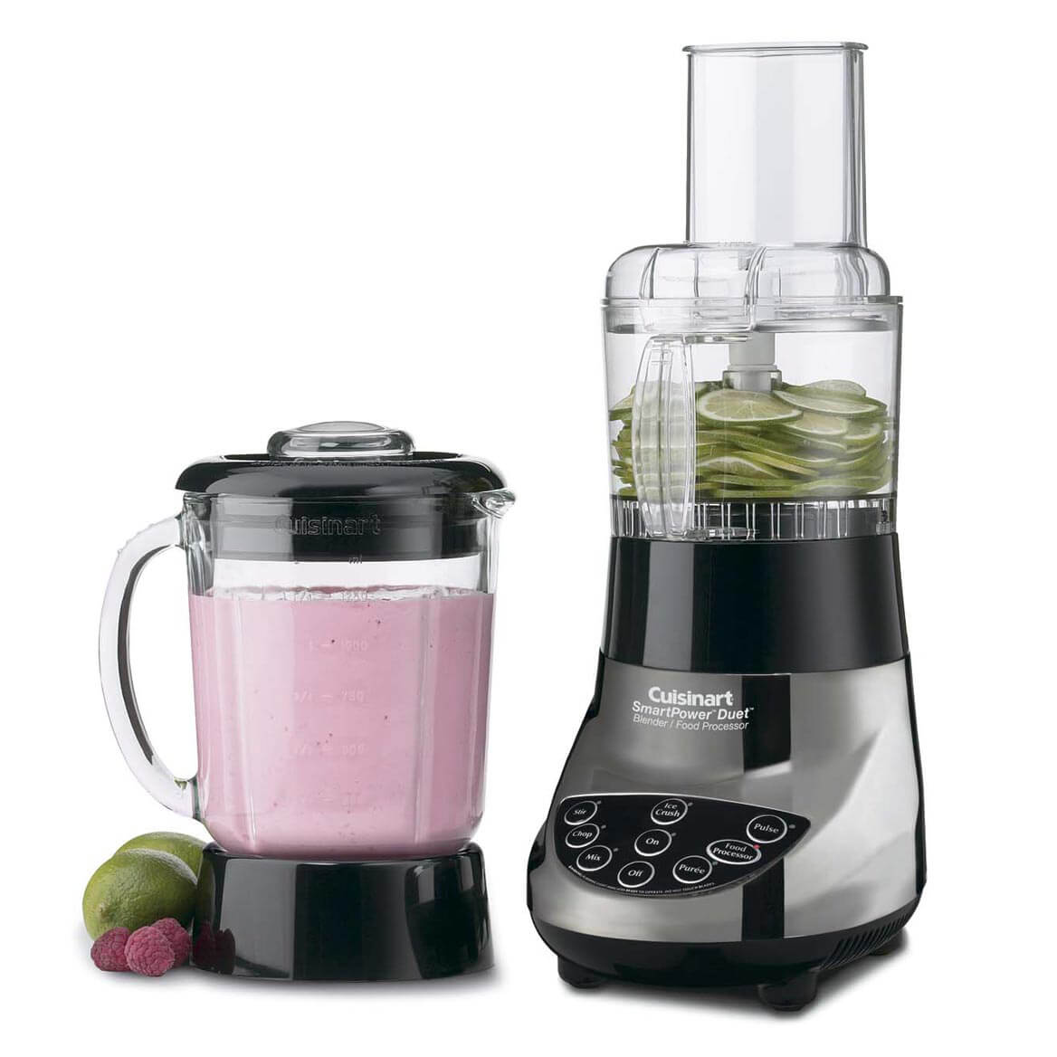 cuisinart smart power duet blender food processor miles kimball. Black Bedroom Furniture Sets. Home Design Ideas