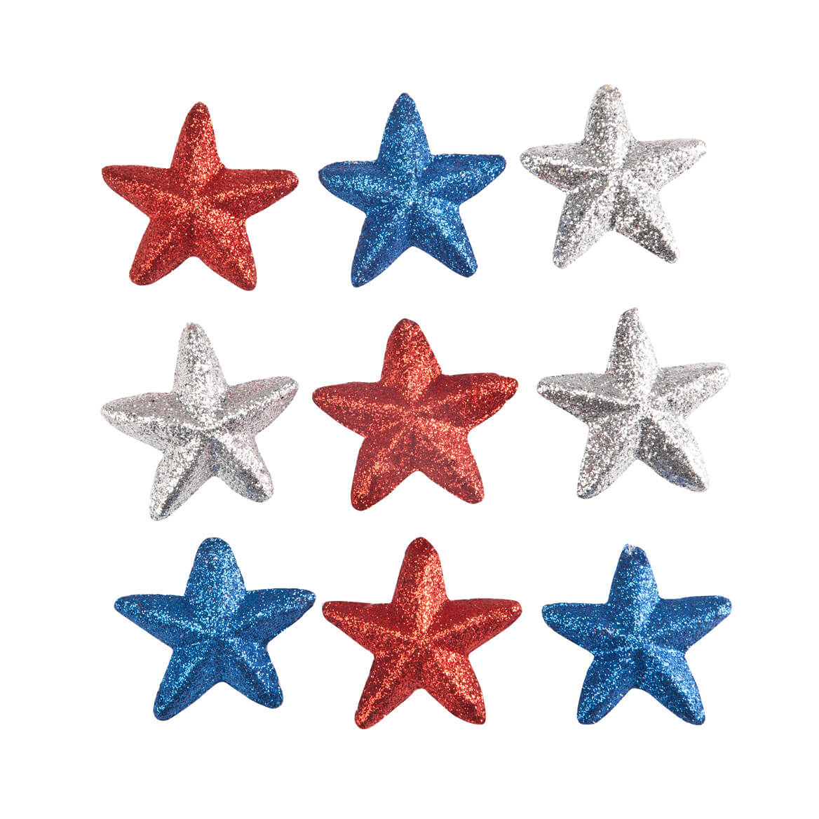 Patriotic Ornaments Set of 9