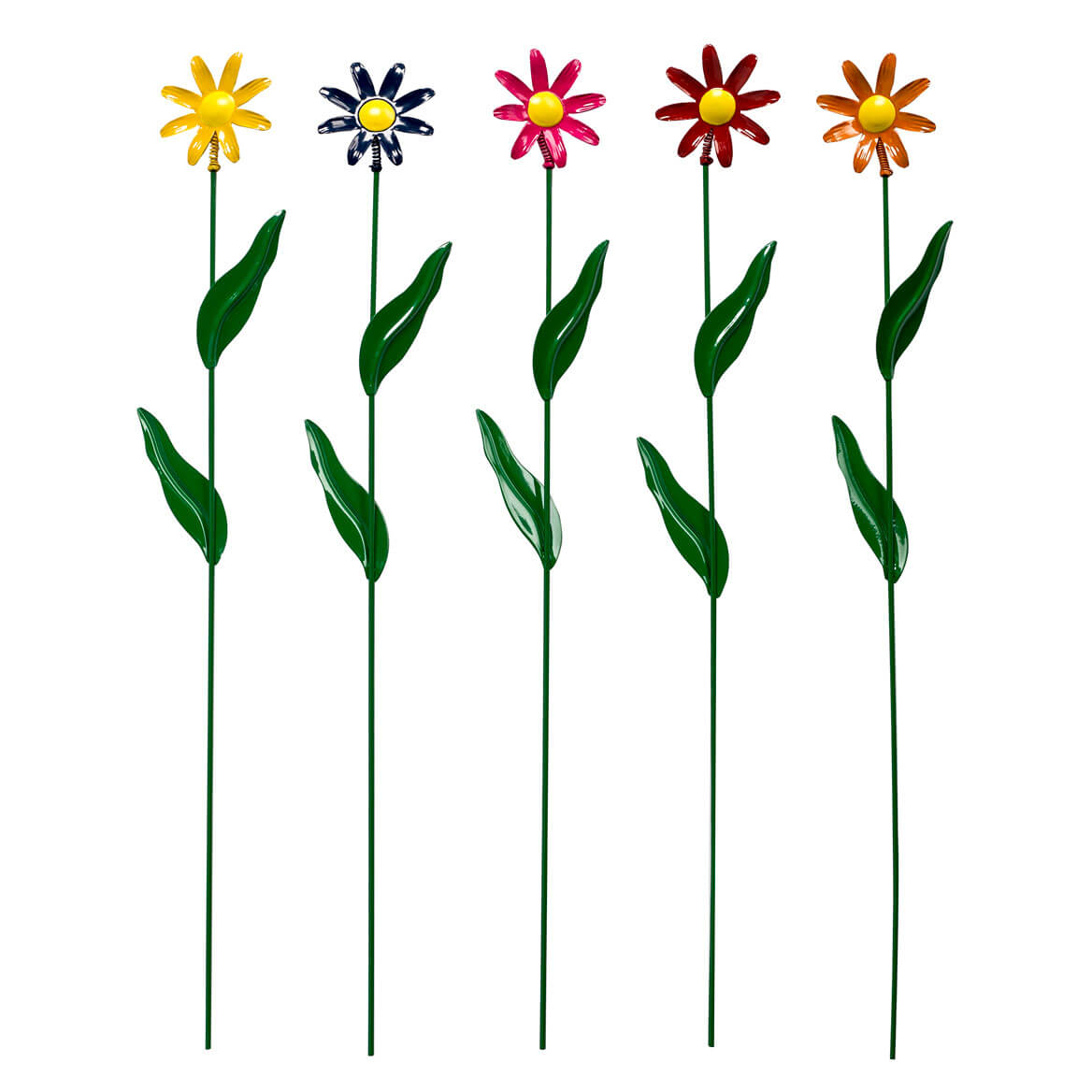 Metal Daisy Stakes Set of 5 by Fox River Creations™-359372