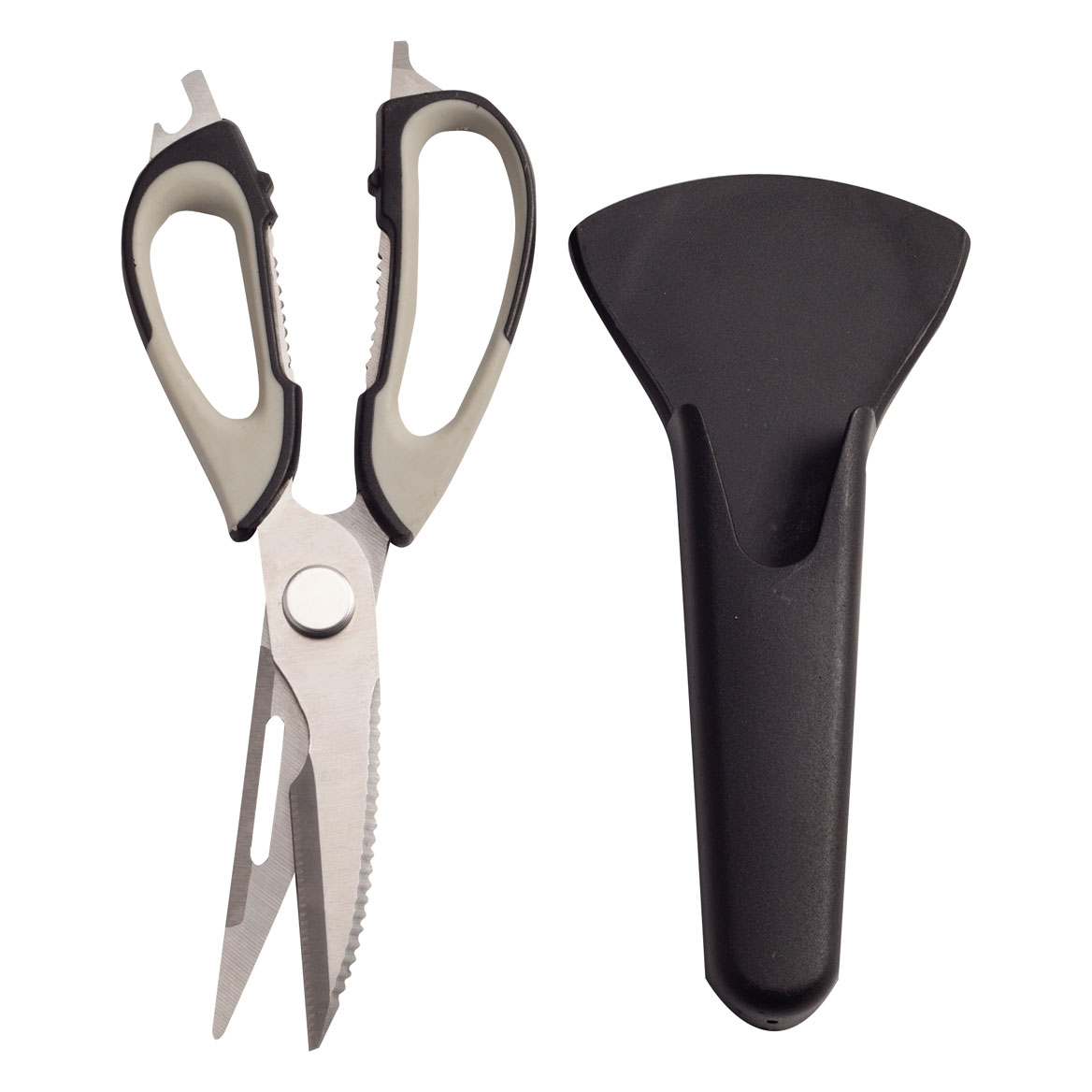 Multi Use Kitchen Scissors with Magnetic Holder