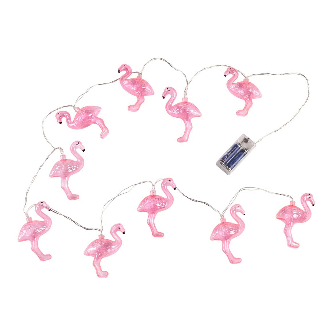 Flamingo String Lights, 10 Count