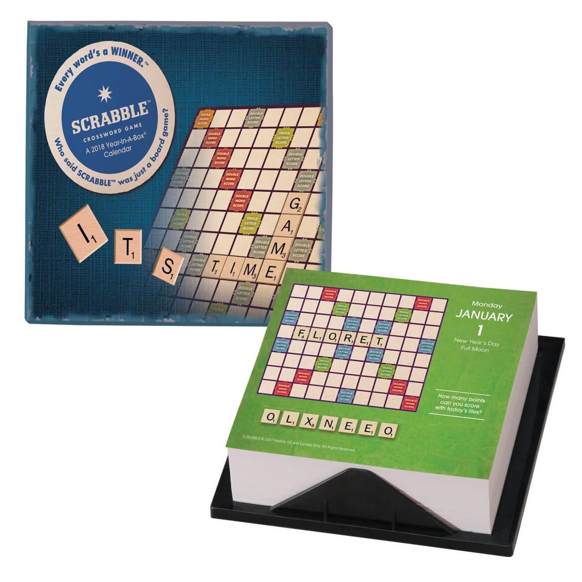 Scrabble ™  365 Desk Calendar