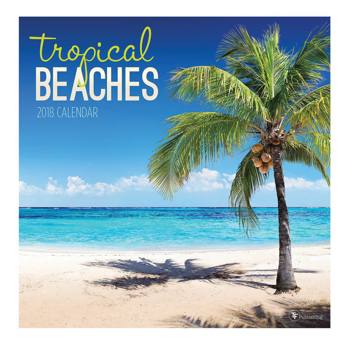 Tropical Beaches Wall Calendar