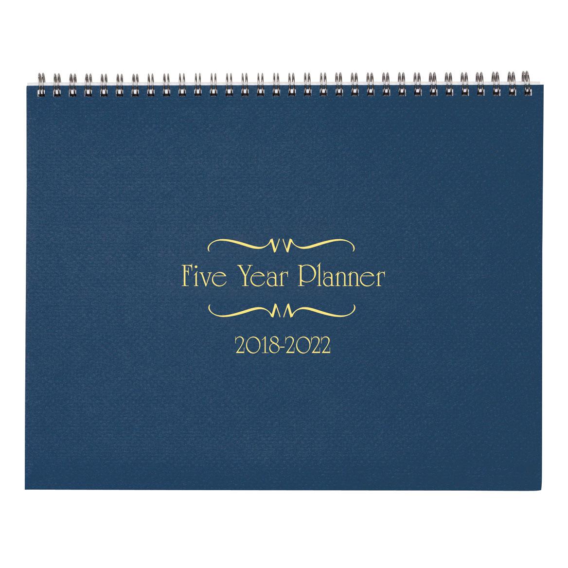 5 year calendar planner