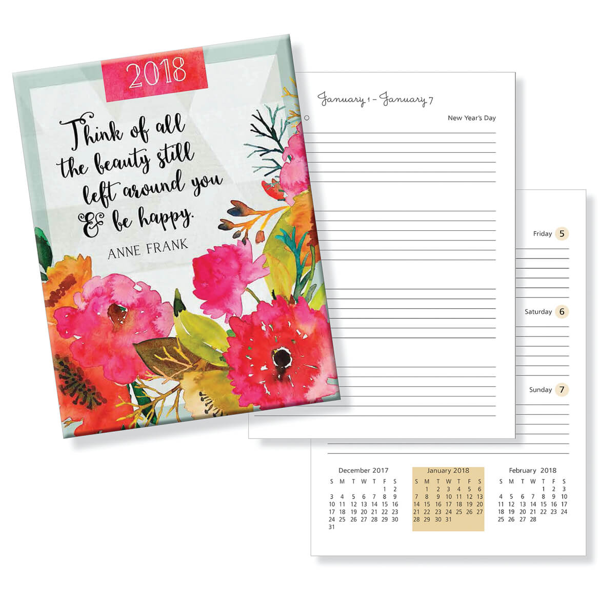 Weekly Agenda Planner - Think of all the Beauty