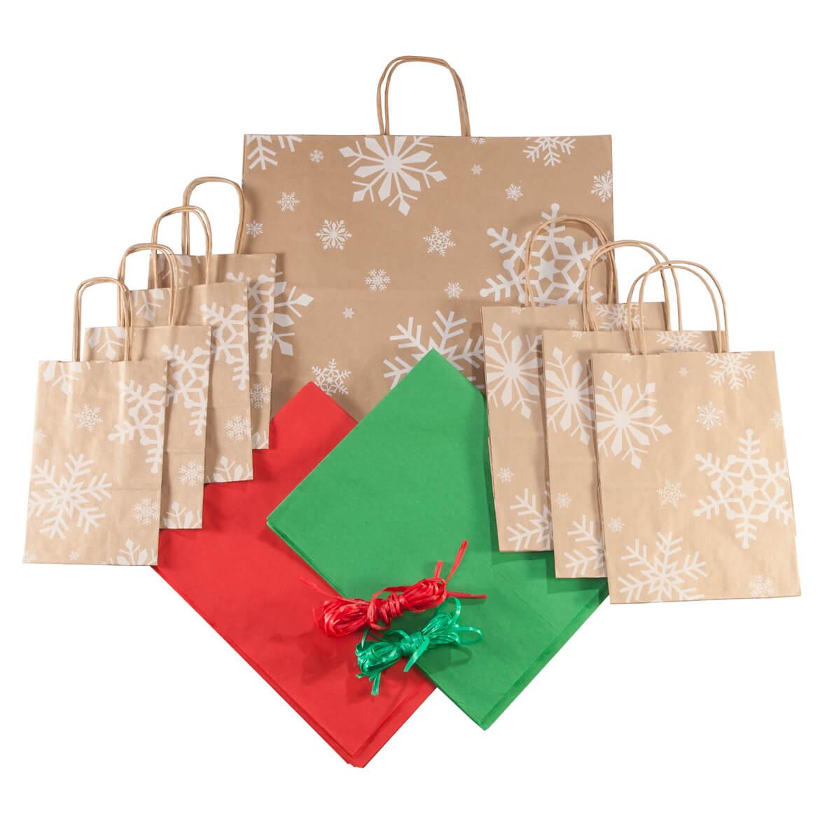Snowflakes Gift Bag Set of 40