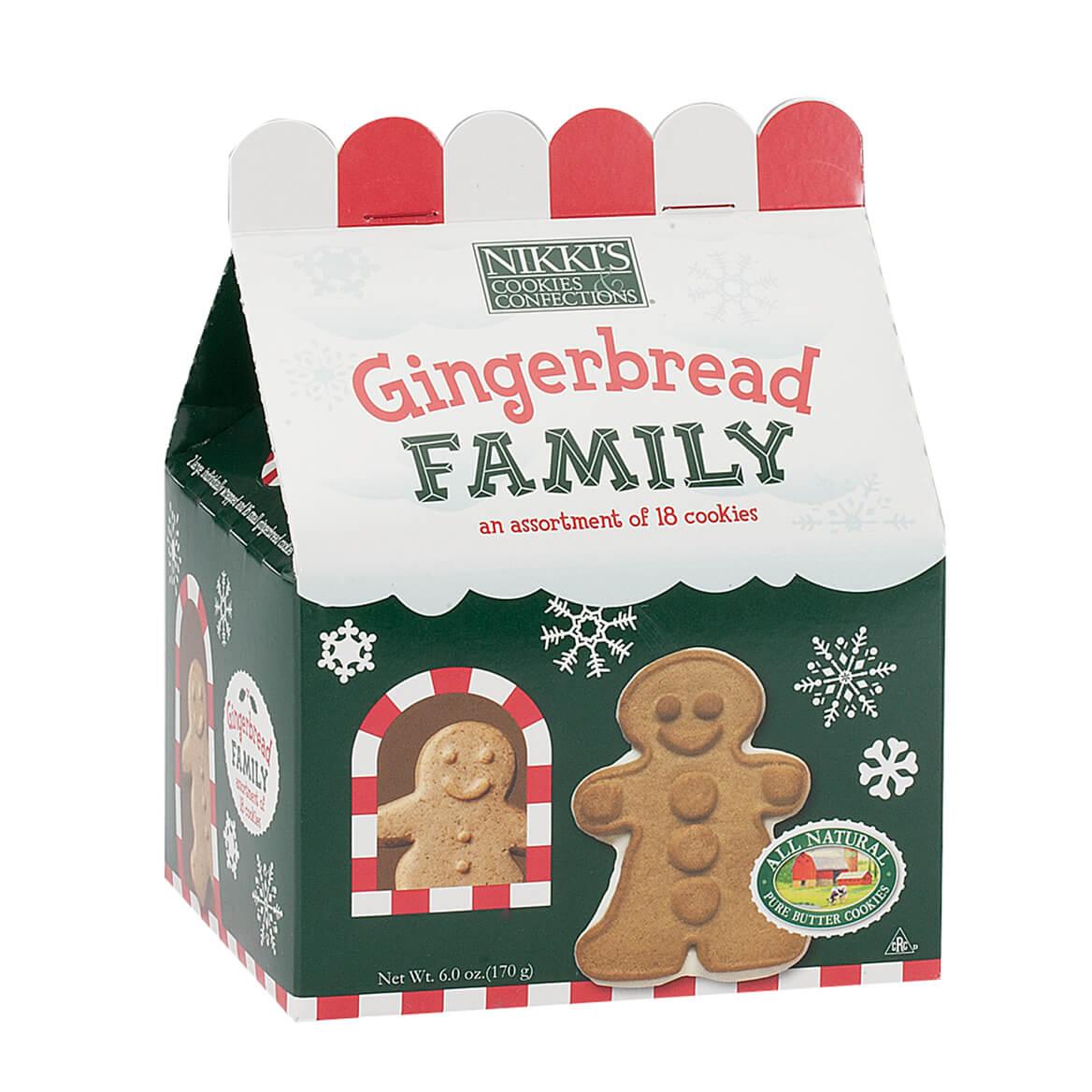 Gingerbread Family Box, 6 oz.