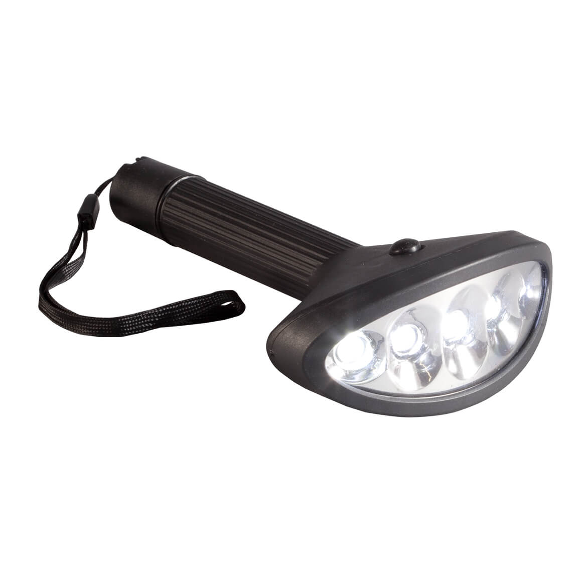 Wide Beam LED Flashlight