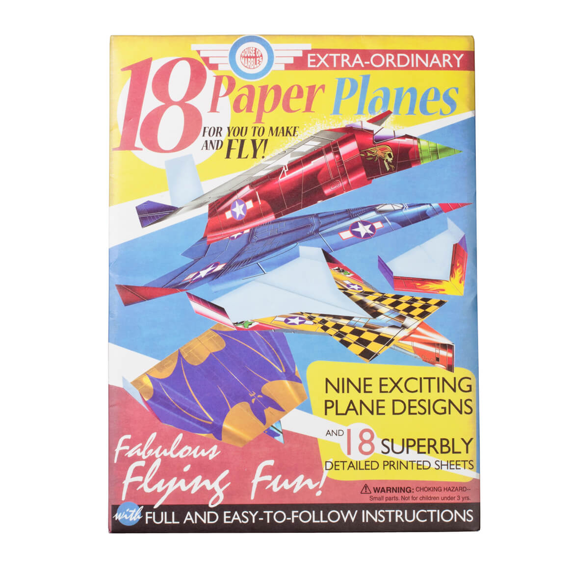 Paper Airplane Making Kit, Set of 18