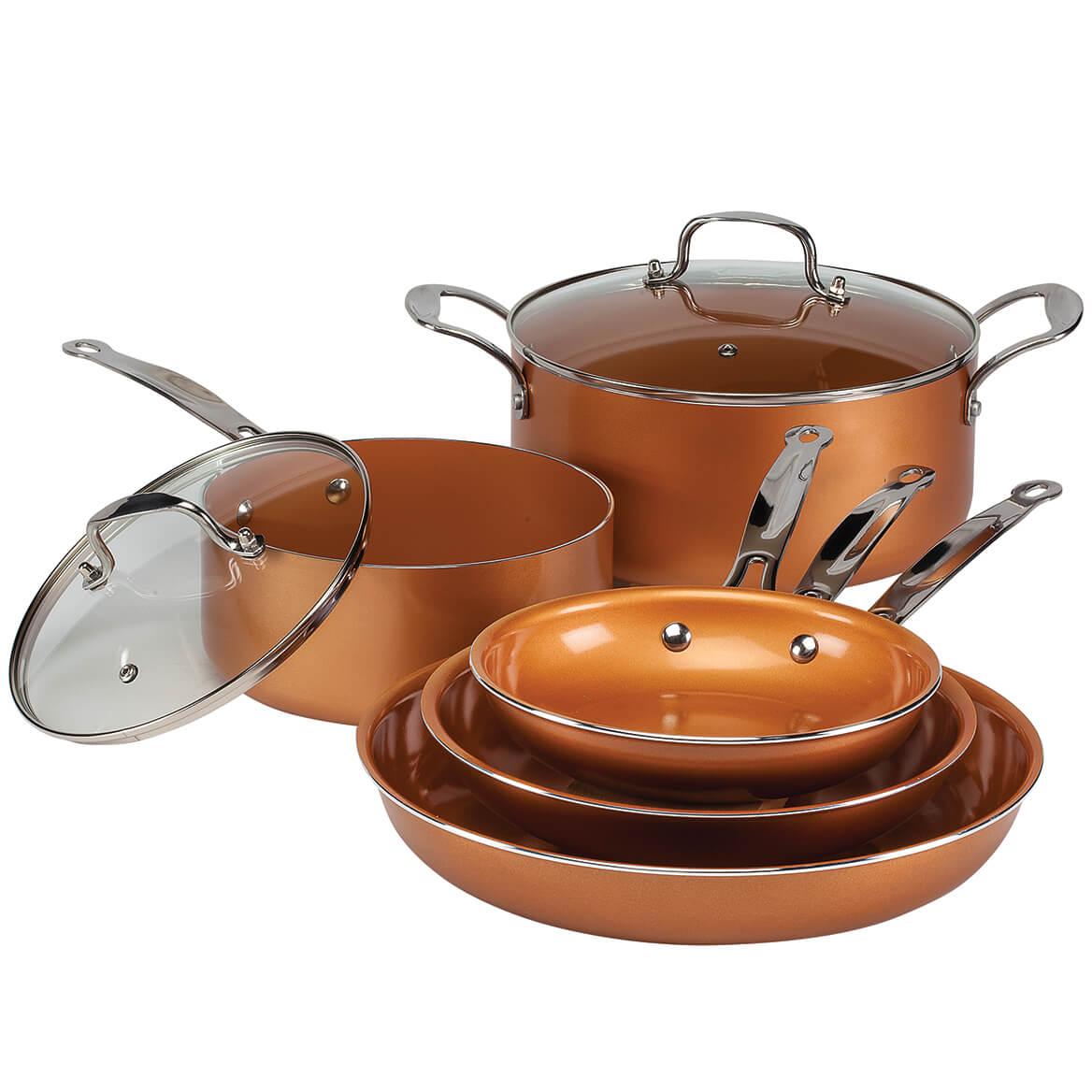 Ceramic Copper Non-stick Cookware Value Set