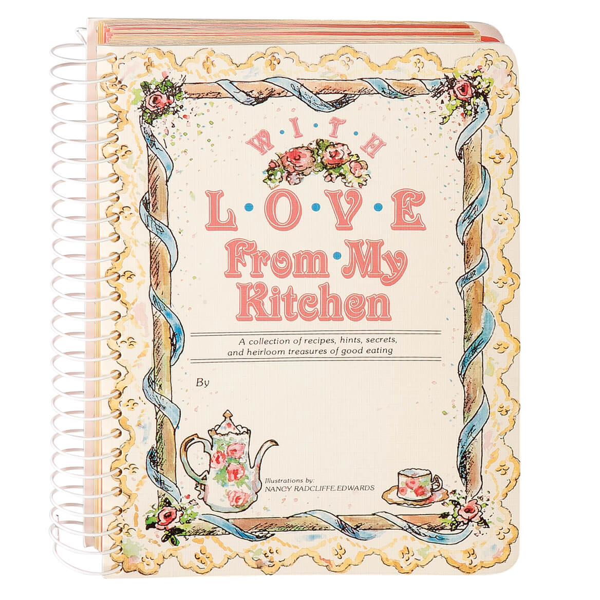 With Love From My Kitchen Memory Cookbook