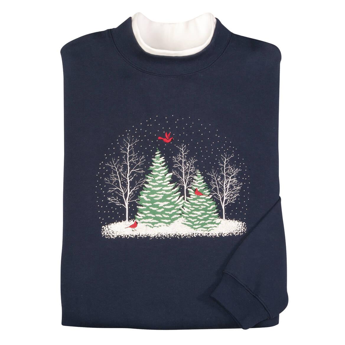 Snowglobe Trees Sweatshirt