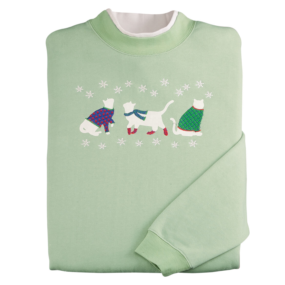 Winter Kitties Sweatshirt