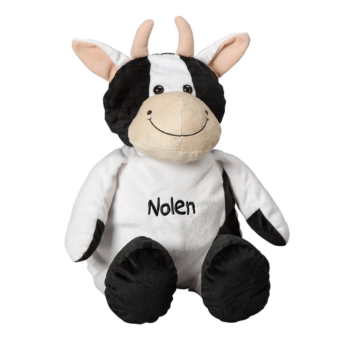 Personalized Stuffed Cow