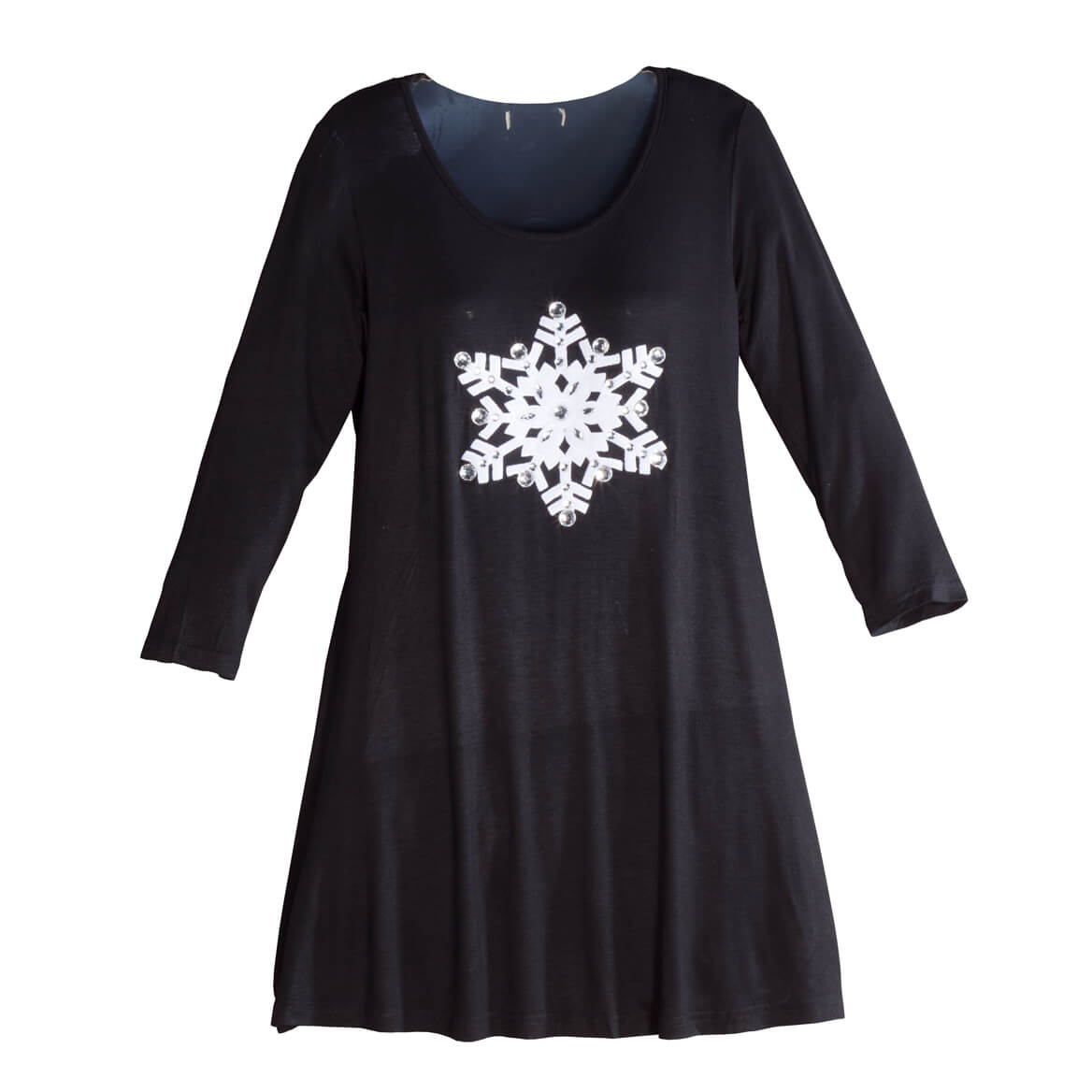 Snowflake Tunic Top